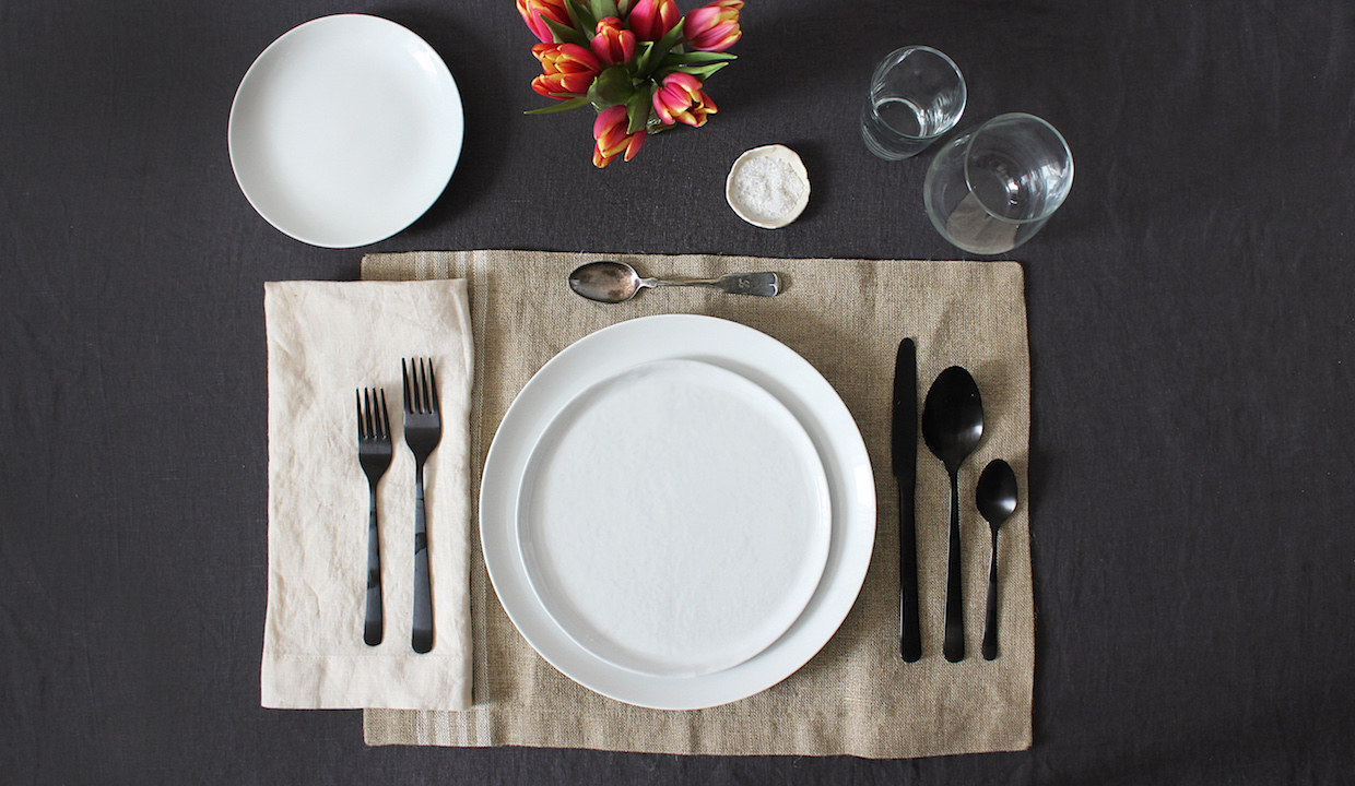 How To Set The Table From Apartment Therapys Maxwell